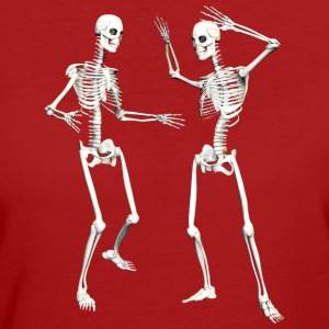 :: skeleton dance (DD) :-: - Frauen Bio-T-Shirt