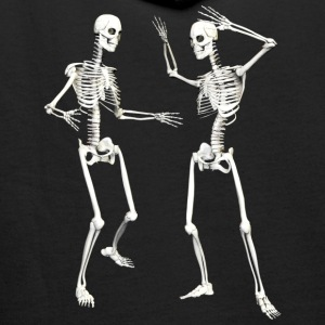 :: skeleton dance (DD) :-: - Sweat-shirt à capuche Premium pour hommes