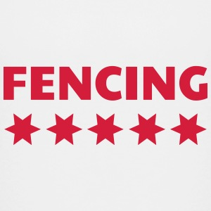 Fencing - Escrime - Fechten - Sword - Sport Shirts - Teenage Premium T-Shirt