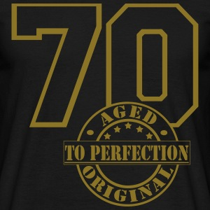 70 Aged to Perfection T-Shirts - Männer T-Shirt