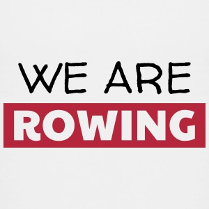 roning rowing sport atlet atletisk T-shirts - Teenager premium T-shirt