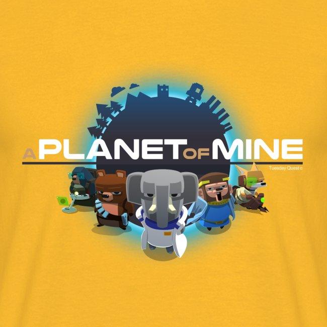 tshirt - A Planet of Mine - Man