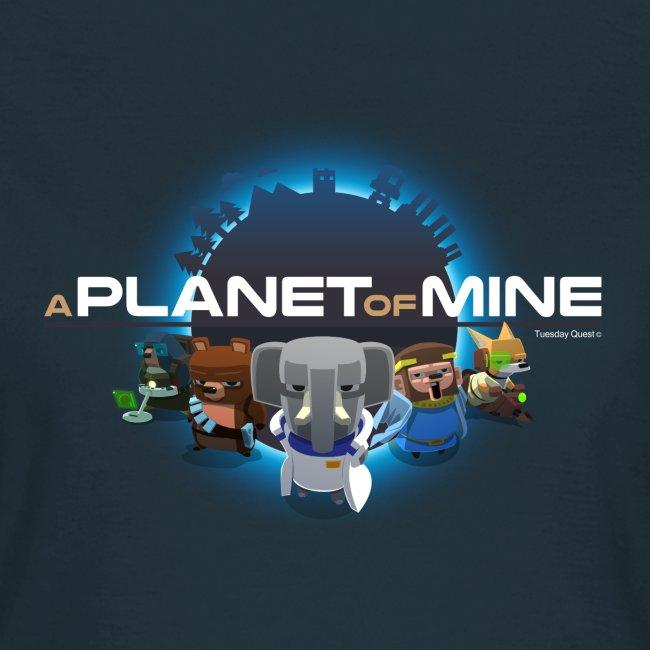 tshirt - A Planet of Mine - Woman