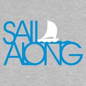 Heather grey sail along (2c) T-shirts Bébés - T-shirt Bébé