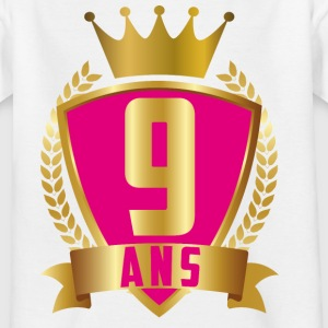 9 ANS ROSE - T-shirt Ado