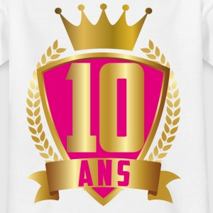 10 ANS ROSE - T-shirt Ado