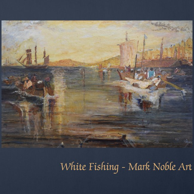 White Fishing - Mark Noble Art