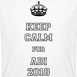 keep calm for ABI 2018 T-Shirts - Männer Bio-T-Shirt