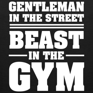 Gentleman In The Street - Beast In The Gym Sportbekleidung - Männer Premium Tank Top