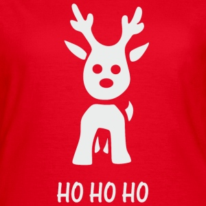 Little Reindeer hohoho T-Shirts - Frauen T-Shirt