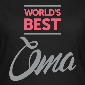 World's Best Oma - Women's T-Shirt