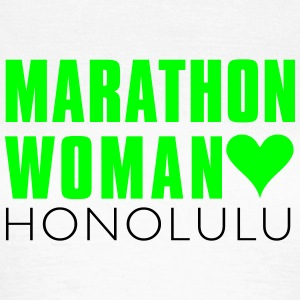 marthon_woman_honolulu T-Shirts - Women's T-Shirt