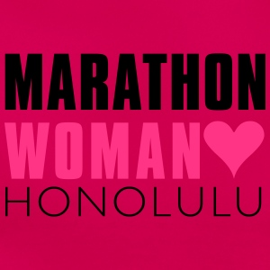 marthon_woman_honolulu T-Shirts - Frauen T-Shirt