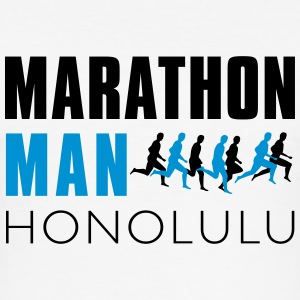 marthon_man_honolulu T-Shirts - Men's Slim Fit T-Shirt