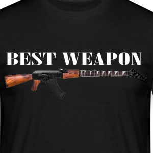 The best weapon Tee shirts - T-shirt Homme