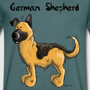 Mignon Berger allemand Tee shirts - T-shirt Homme col V