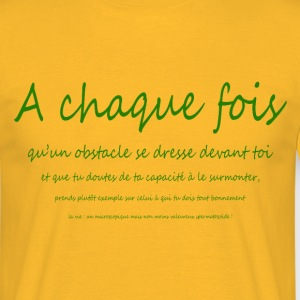 courage - T-shirt Homme