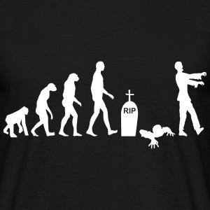 Zombie evolution - Halloween - Men's T-Shirt