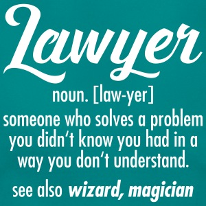 Lawyer - Definition T-shirts - Dame-T-shirt