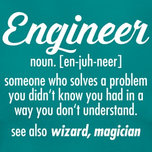 Engineer - Definition T-shirts - Dame-T-shirt