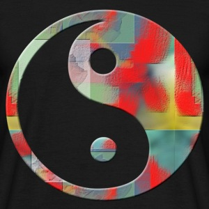 ying and yang   Tee shirts - T-shirt Homme
