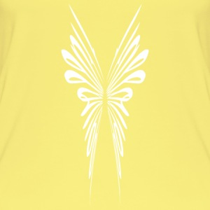 Filigree abstract wings Tops - Women's Organic Tank Top