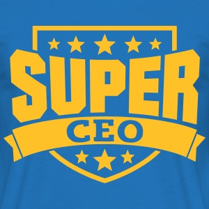 Super CEO T-Shirts - Männer T-Shirt