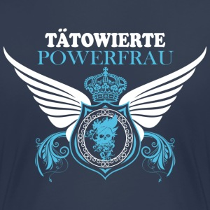 Tätowierte Powerfrau T-Shirts - Frauen Premium T-Shirt