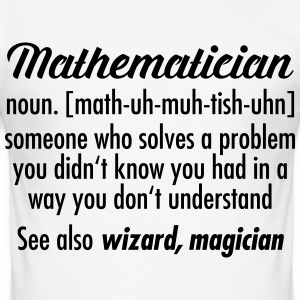 Mathematician - Definition T-shirts - Slim Fit T-shirt herr