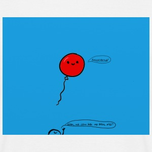 little red balloon - Men's T-Shirt