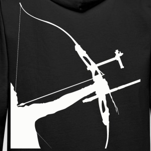 Sweat Recurve Archer Evolution - Sweat-shirt à capuche Premium pour hommes