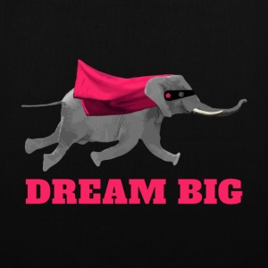 Flying elephant Dream big Borse & Zaini - Borsa di stoffa