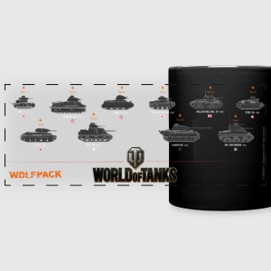 World of Tanks Wolfpack - Full Color Panoramic Mug