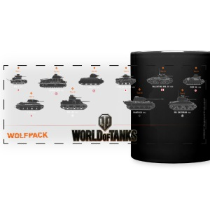 World of Tanks Wolfpack - Färgad panoramamugg
