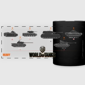 World of Tanks Heavy - Panoramatasse farbig