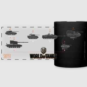 World of Tanks Sniper - Full Color Panoramic Mug