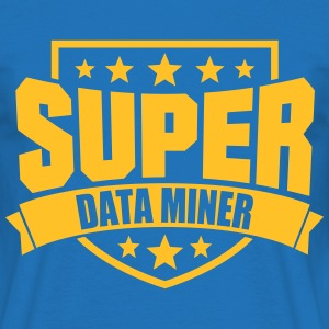 Super Data Miner T-Shirts - Männer T-Shirt