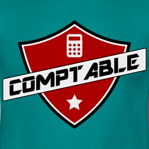 blason comptable Tee shirts - T-shirt Homme