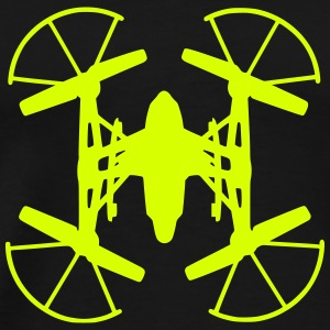 drone quadcopter Tee shirts - T-shirt Premium Homme
