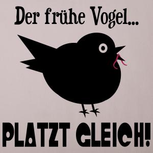 """Shirts mit Tier-Motiv """"Der frühe Vogel"""""""