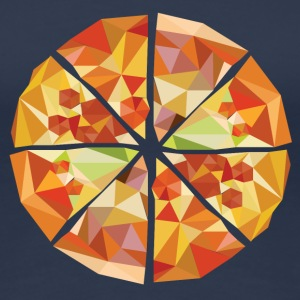 Geometric pizza - Women's Premium T-Shirt