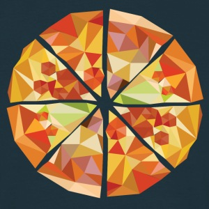 Geometric pizza - Men's T-Shirt