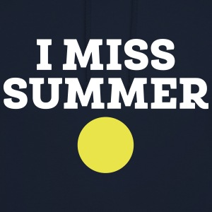 I Miss Summer Sweat-shirts - Sweat-shirt à capuche unisexe