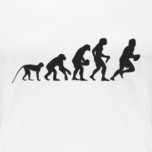 Evolution Football T-shirts - Dame premium T-shirt