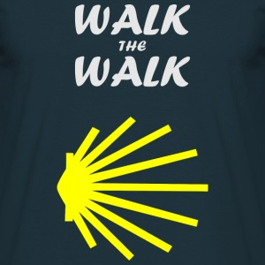 Walk the Walk - Camino de Santiago T-Shirts - Men's T-Shirt