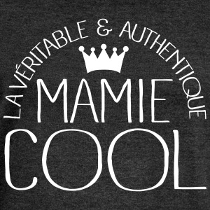 Mamie Cool Sweat-shirts - Pull Femme col bateau de Bella