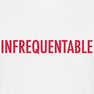 infrequentable Tee shirts - T-shirt Homme