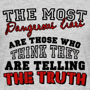 The Most Dangerous Liars - Men's T-Shirt
