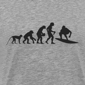 Evolution surf T-shirts - Herre premium T-shirt