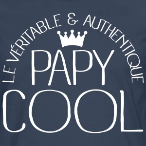 Papy Cool Manches longues - T-shirt manches longues Premium Homme